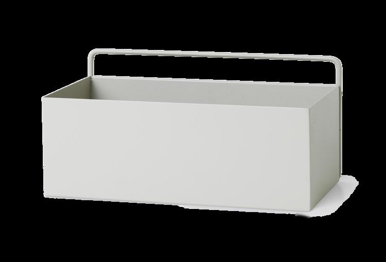 Ferm Living Light Grey Wall Box - Rectangle