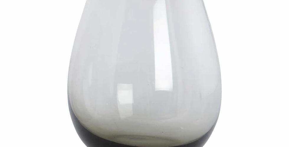 House Doctor Smoked Grey Ball Glass