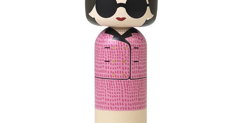 Lucie Kaas Kokeshi Doll - Jackie O