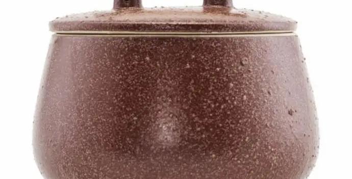House Doctor Burnt Henna Diva Storage Jar