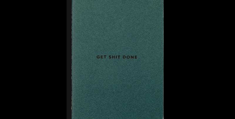 Get Sh*t done A6 Notebook