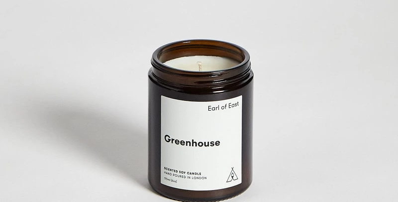 Earl of East Greenhouse Soy Wax Candle