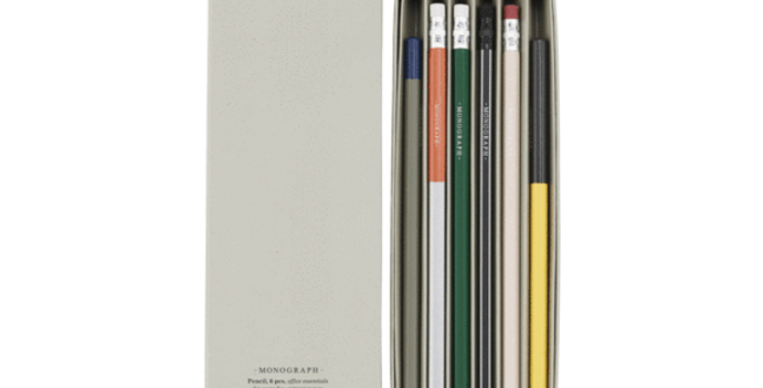 Monograph Set of 6 Pencils