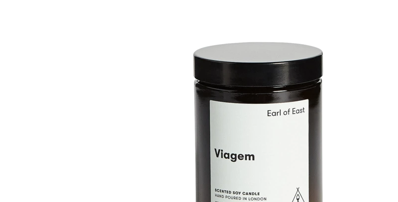 Earl of East Viagem Soy Wax Candle