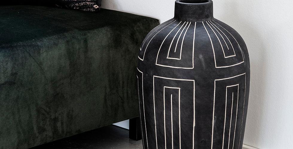 House Doctor Grey Aljeco Vase
