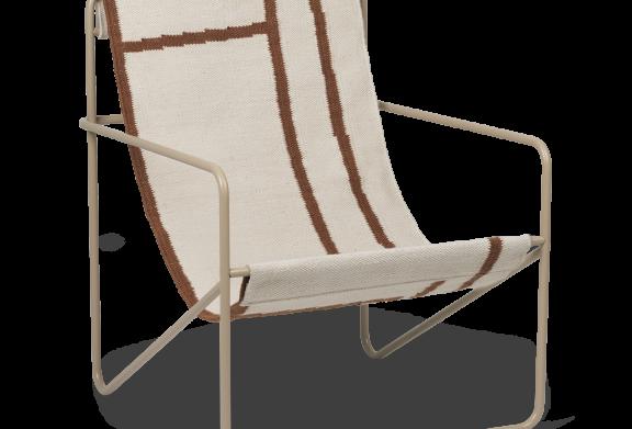 Ferm Living Desert Lounge Chair - Cashmere