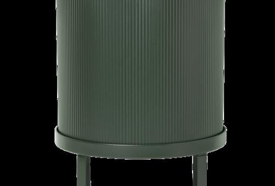 Ferm Living large green Bau pot