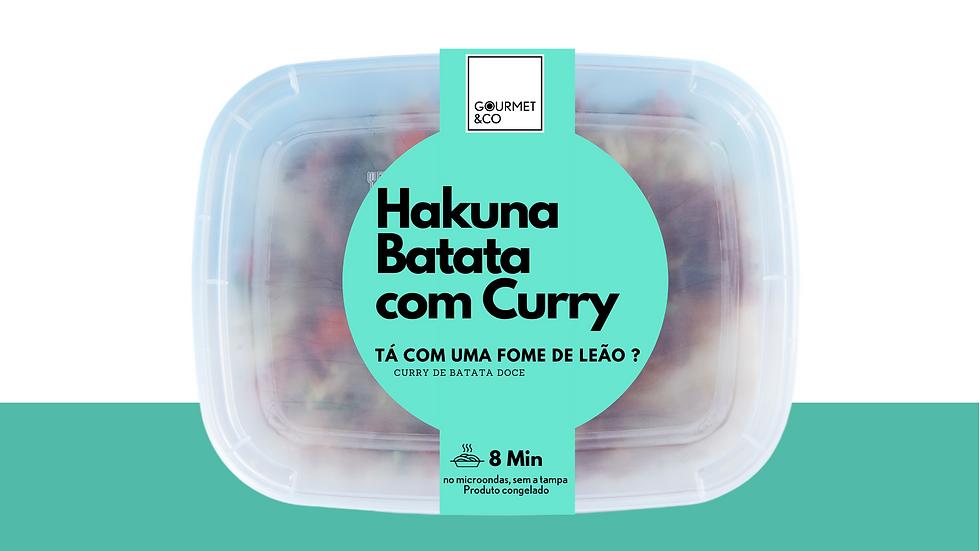 Curry de batata doce com especiarias