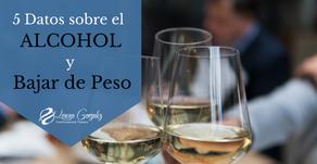 5 Datos sobre el Alcohol y Bajar de Peso