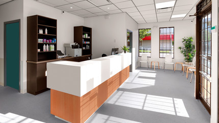 FRASERVIEW RECEPTION AREA