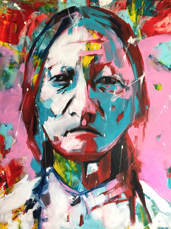 Sitting Bull - colour - No watermark