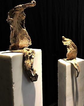 "sculpture bronze ""conversation"""
