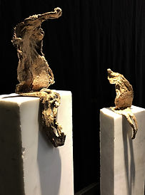 Sculpture bronze galerie art aix en provence