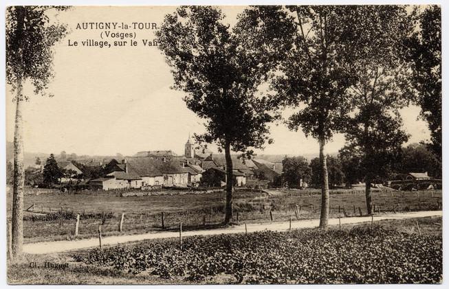 Vue du village rue du tahon