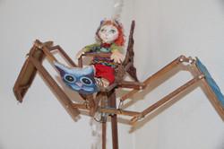Atelier d'artiste 4 Marionnettes S