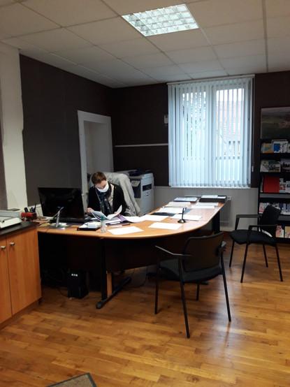 bureau de la secrétaire