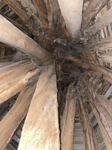 Haut plafond du clocher