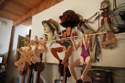 Atelier d'artiste 1 Marionnettes S