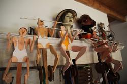 Atelier d'artiste 2 Marionnettes S