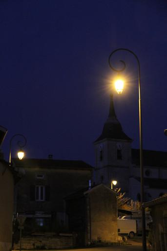 Michel thomas by night clocher.JPG