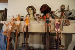 Atelier d'artiste 3 Marionnettes S