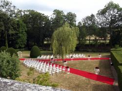 ceremonie parc
