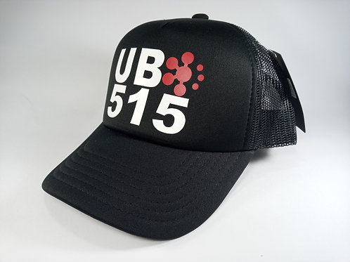 UB515 Black Race Cap