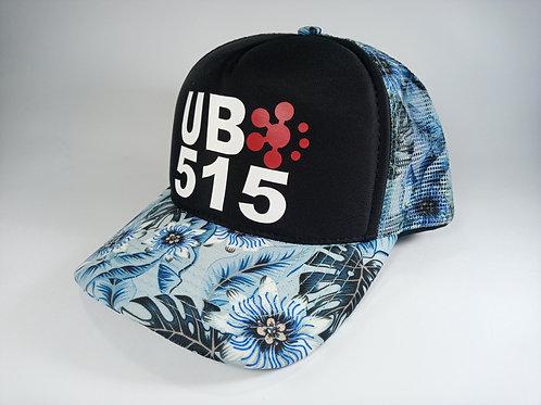 UB515 Aloha Blue Race Cap
