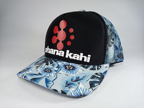 Ohana Kahi Aloha Blue Race Cap