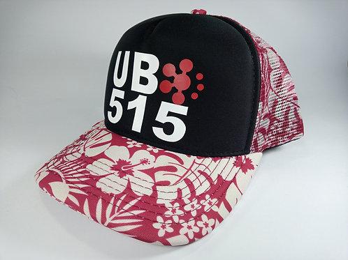 UB515 Aloha Red Race Cap