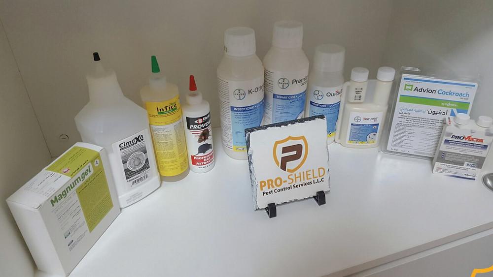 Safe Pesticides for pest control