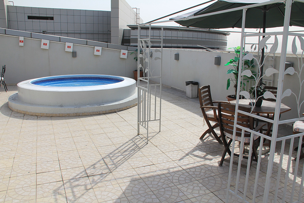Small Outdoor Swimming Pool