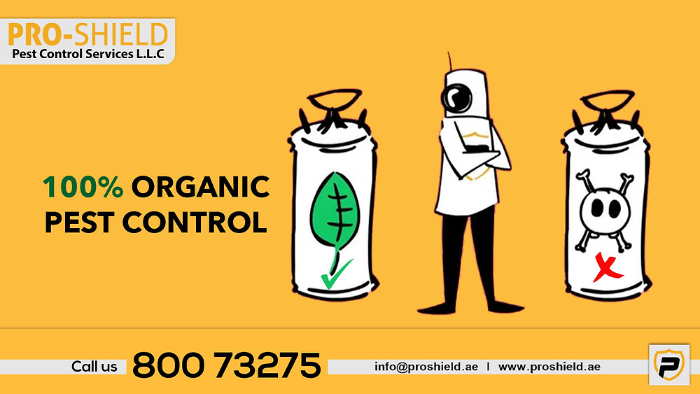 organic and green pest cotrol