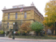 The Fairfield County Courthouse, located at 210 E. Main Street in Lancaster, Ohio