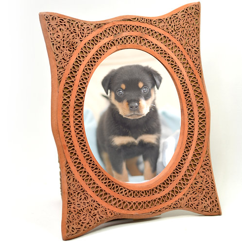 Handcrafted Leather Photo Frames