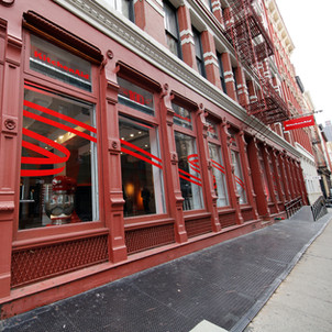 The KitchenAid Culinary Playground is located on the corner of Grand St. and Mercer St. at 107 Grand Street New York, NY 10013. (Clarence Sormin)