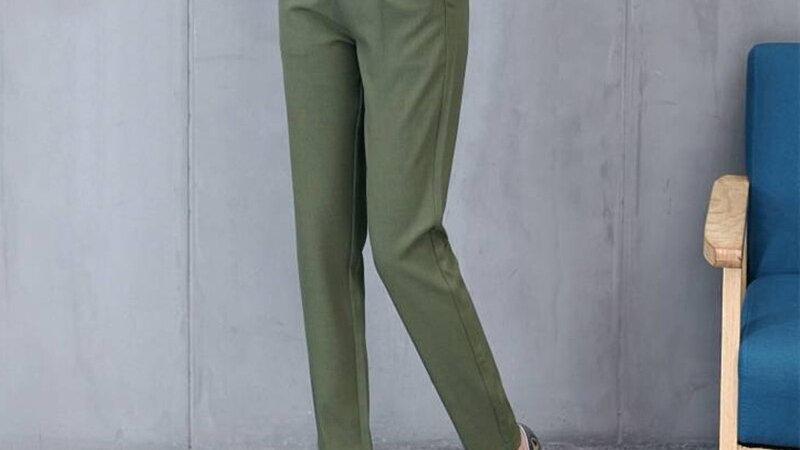 Fashion Women Autumn Solid Color Pants