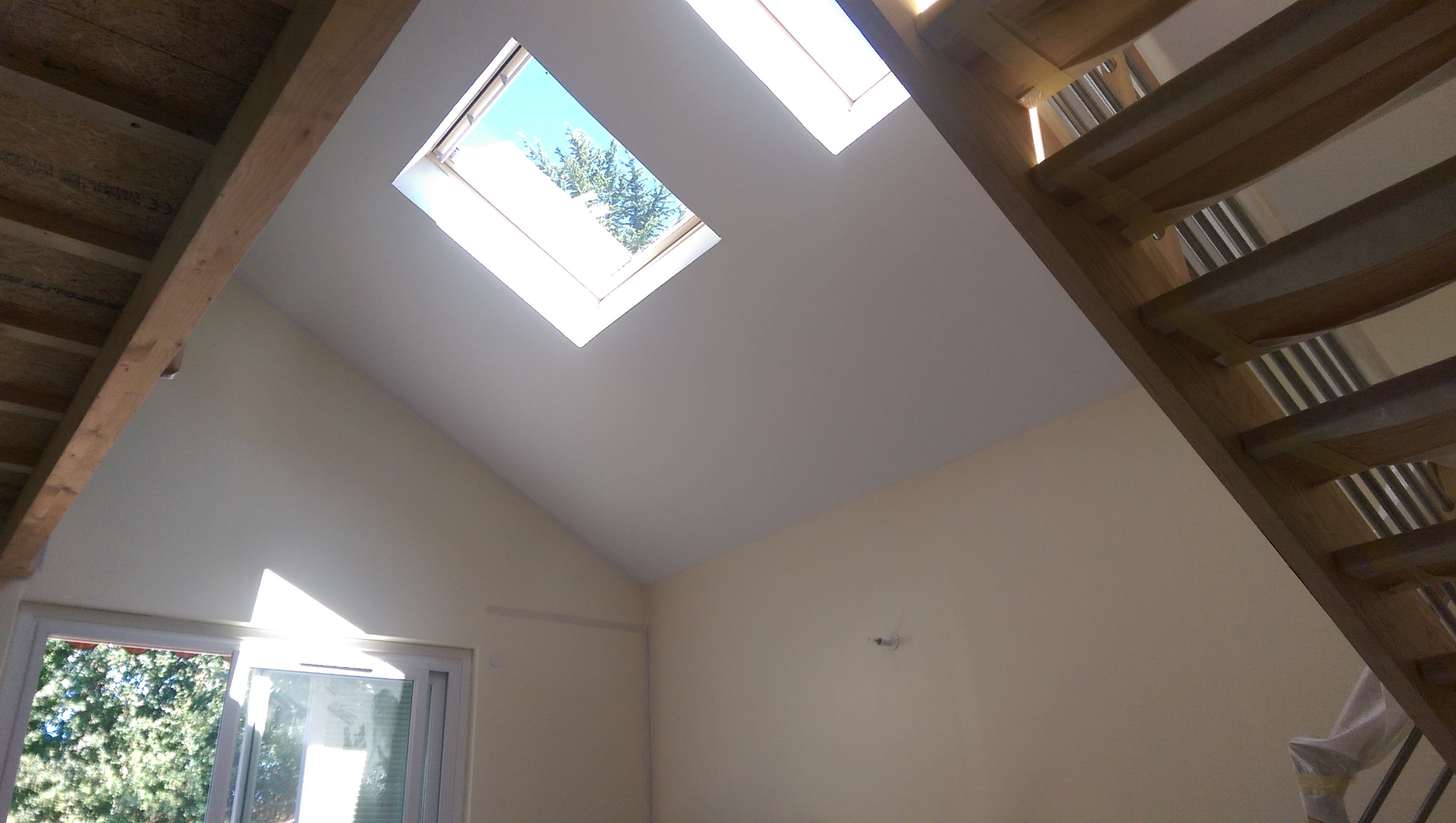 amenagement de comble avec velux