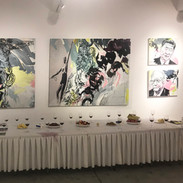 Exposition à Yukou, International Art district, Shaanxi, Chine