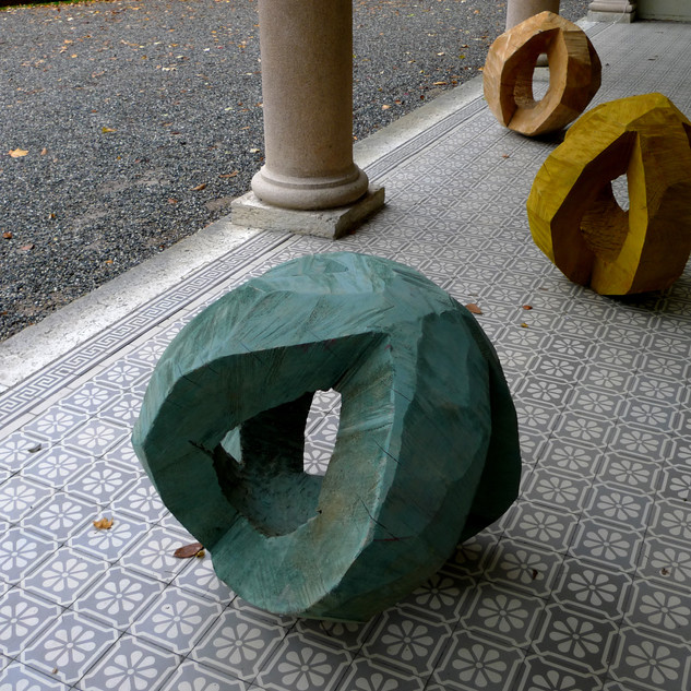 Balises, exposition Villa Dutoit Genève