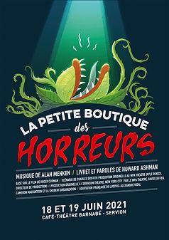 Affiche La Petite Boutique des Horreurs.
