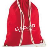 Sac à cordon Evaprod rouge
