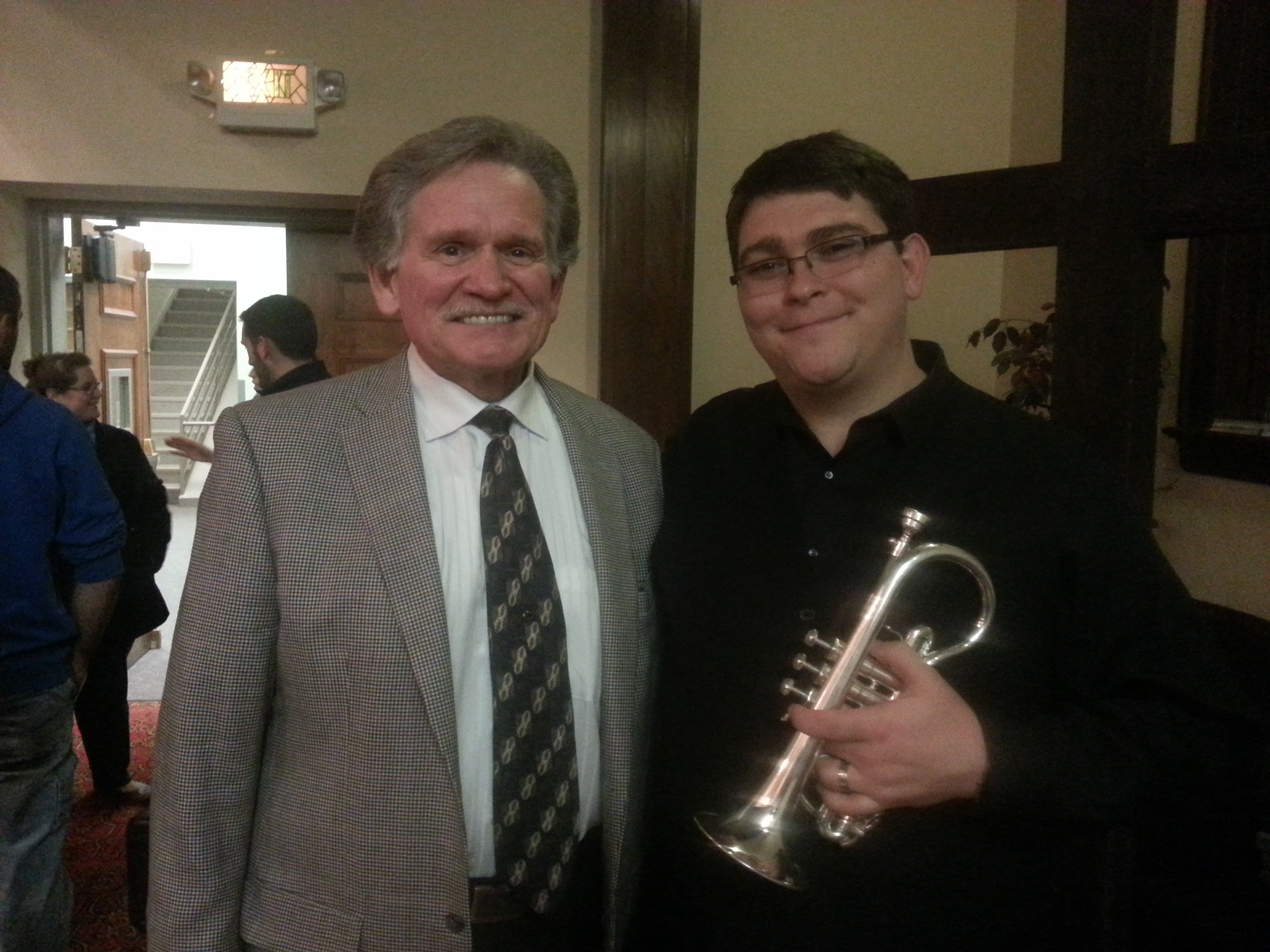 with the great composer Jim Curnow