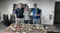 with Mark Clodfelter and Andy Lott
