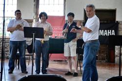Tom Stevens' famous oboe player look