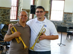 with Sicilian trumpeter Carmelo Fede