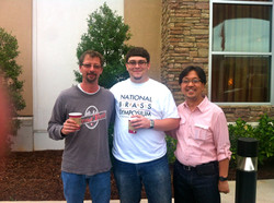 with Dave Lotozo and Wayne Tanabe