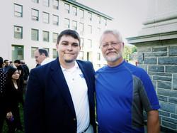 with Composer David Sampson