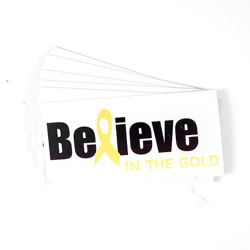 Believe Magnets or Sticker