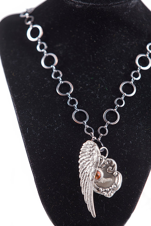 Vintage Believe Necklace
